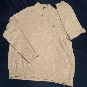 Ralph Lauren Polo Half-Zip Sweater